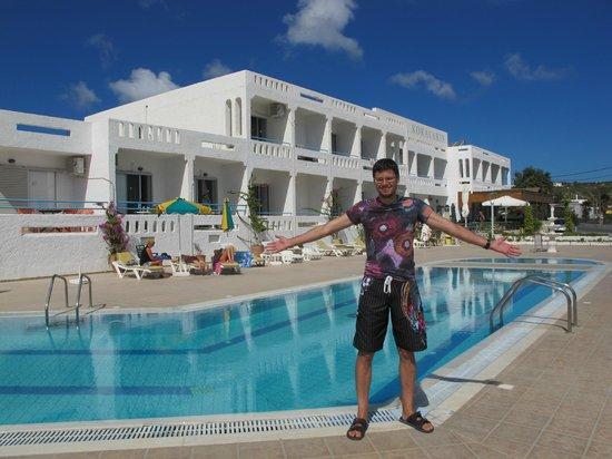 Kokalakis Beach Hotel: Вид на отель