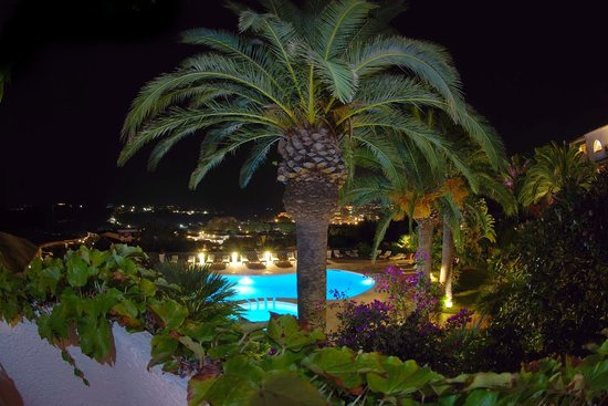 Balocco Hotel : Evening balcony view from 103