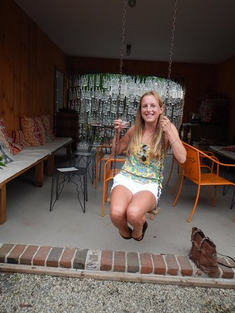 Croteaux Vineyards: Swing