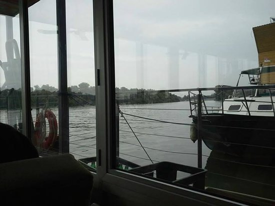 Arkabarka Floating Hostel: View from the Living Room