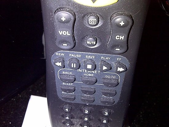 Griffin Gate Marriott Resort & Spa: dusk/clean the remotes