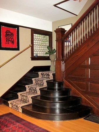 Foxglove Guesthouse: Foxglove entry hall
