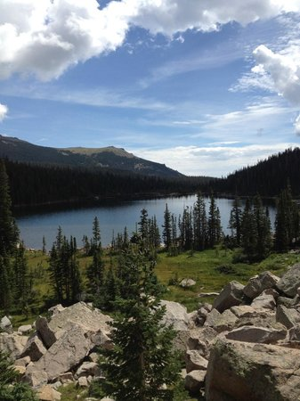 Thunder Lake day hike or backpack