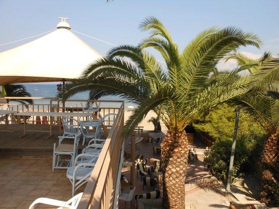 Island Beach Resort: View from Sandstorm nightclub