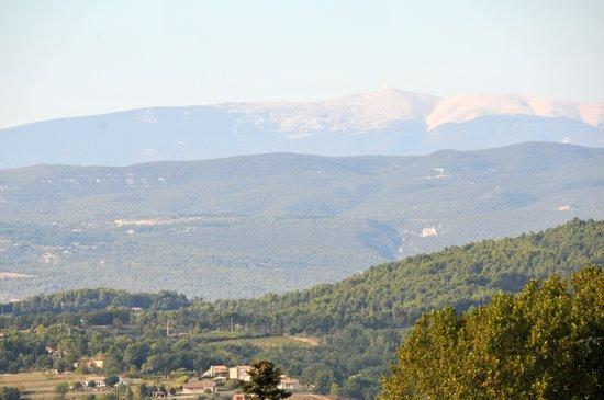 La Bastide des Magnans : vue de la terrasse