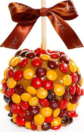 Amy's Candy Kitchen: Our Fall M&M Apple