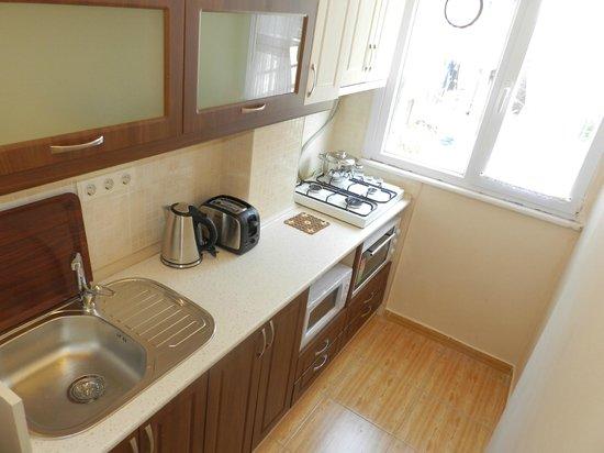 Hagia Sophia Apartment: mutfak