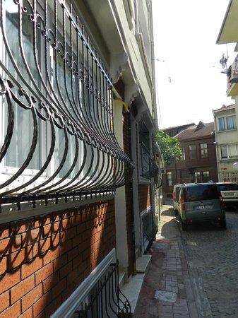 Hagia Sophia Apartment: dış görünüm