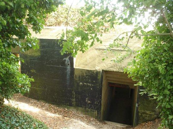 Batterie de Maisy : A bunker