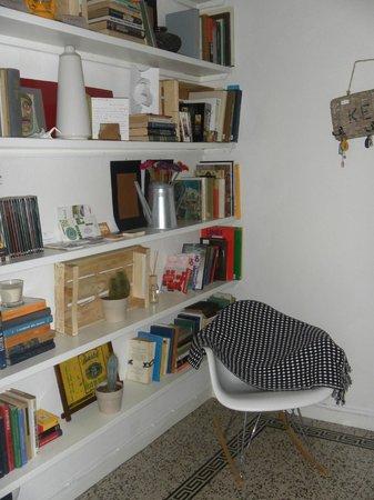 Libeccio Bed & Breakfast Milano: Libreria