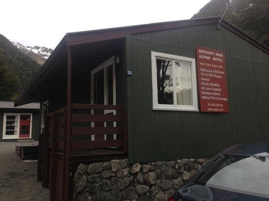 Arthur's Pass Alpine Motel: our cabin