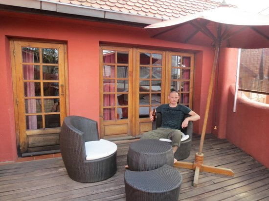 Hotel Sakamanga: Roof terrace