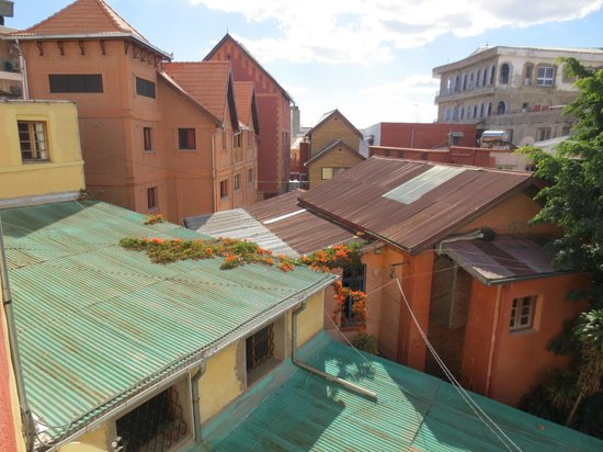 Hotel Sakamanga : View from the roof terrace