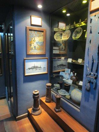 Hotel Sakamanga: museum pieces