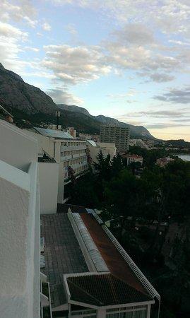 Biokovka: room view - highest floor