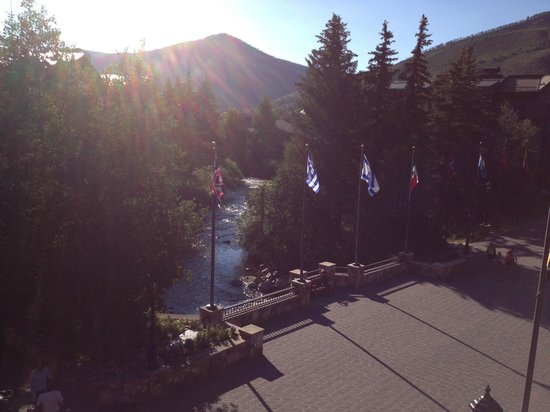 Sitzmark Lodge at Vail: View from balcony