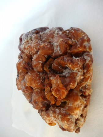 Back Door Donuts: Best apple fritters, ever -- easily enough for 2