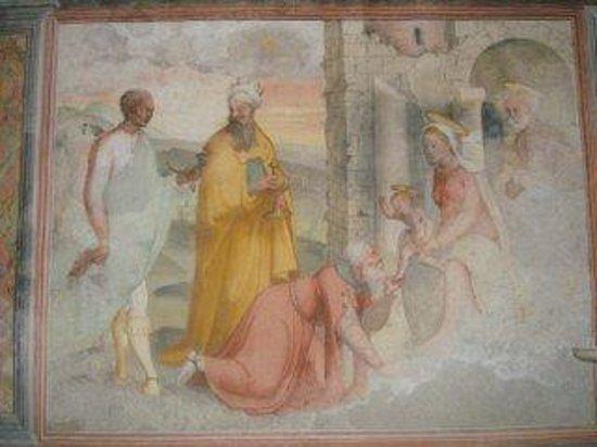 Santuario di Nostra Signora delle Grazie: affreschi