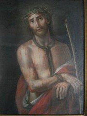 Santuario di Nostra Signora delle Grazie: Cristo bilaterale fronte