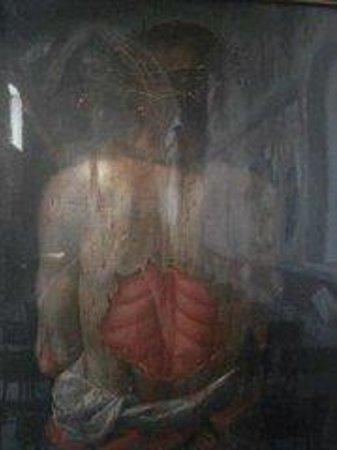 Santuario di Nostra Signora delle Grazie: Cristo bilaterale retro