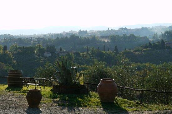 Agriturismo Castel di Pugna: la vue depuis la chambre