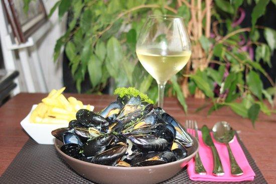 Saint-Nazaire, Francia: les moules-frites