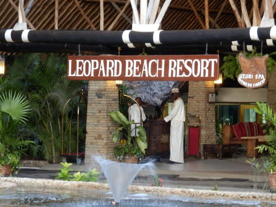 Leopard Beach Resort & Spa: 03/2013 Leopard Beach Resort, Diani Beach