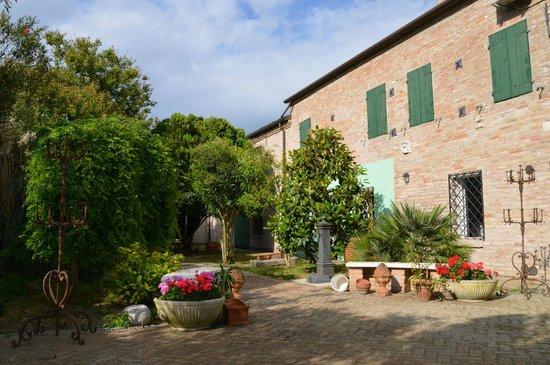 La Corte dei Ducati: deel van de tuin