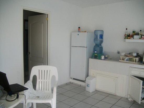 Hotel Eden: Front Room Eden Kitchen entrance rear bedroom