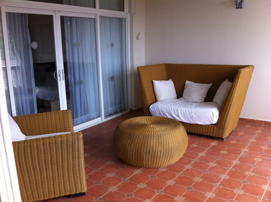 The Crown Villas at Lifestyle Holidays Vacation Resort: Balcony president suit 37 & 38