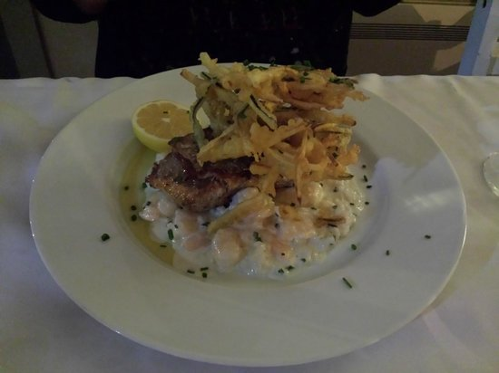 Castelo do Mar Restaurante & Bar: Salmon & Prawn