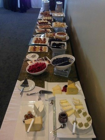 Delegates Dining Room Dessert Buffet Picture Of