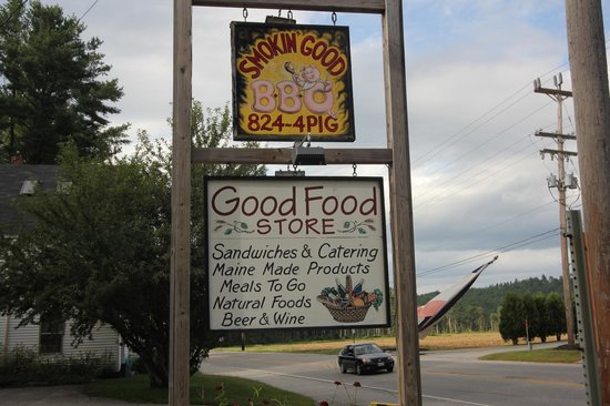 Smokin' Good BBQ: Exciting sign