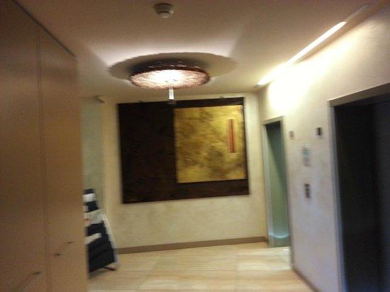 Hotel Cruise : corridoio colazione
