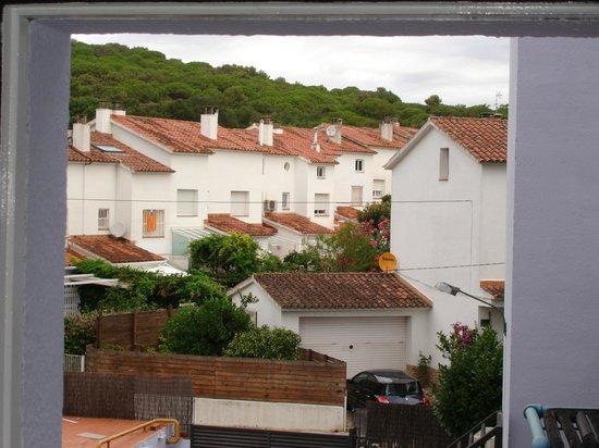 H·TOP Palm Beach & SPA: Вид из окна