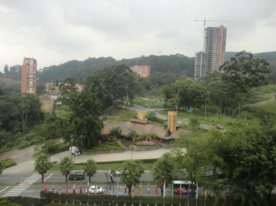 InterContinental Medellin: vista desde el 7mo piso
