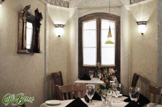 Cafe Baci: main room
