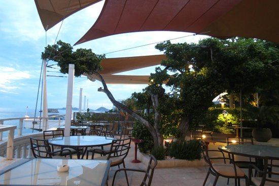 Petit Nice Passedat: terrace