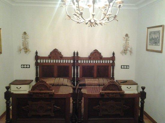 POSADA DE SAJAZARRA: Nuestra habitación.