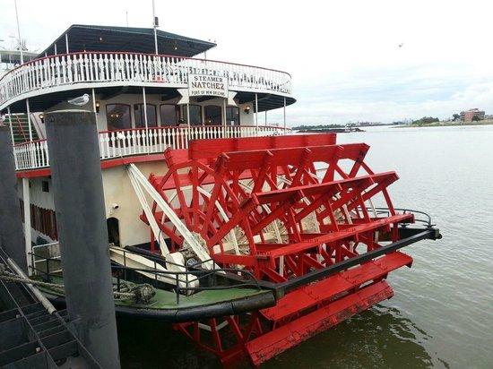 Paddle Wheel Picture Of Steamboat Natchez New Orleans Tripadvisor
