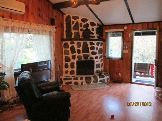 Domaine Ste-Agathe Resort: chalet 14 avec spa et sauna en pleine air