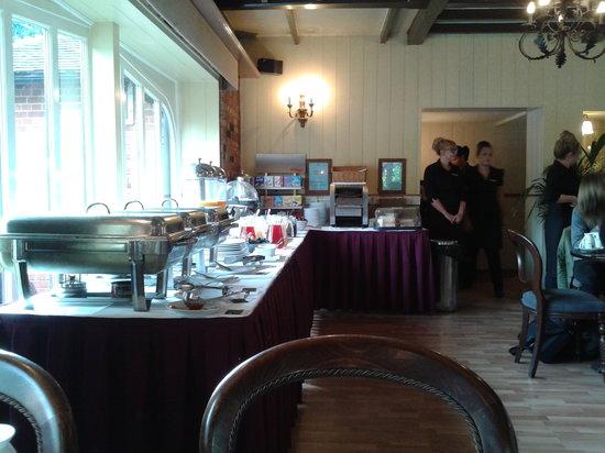 The Falstaff in Canterbury: la sala
