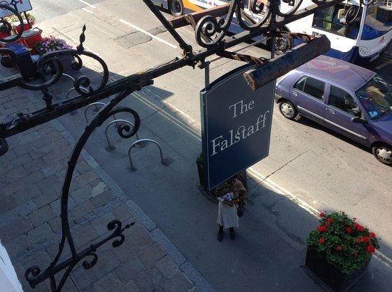 The Falstaff in Canterbury: l'insegna