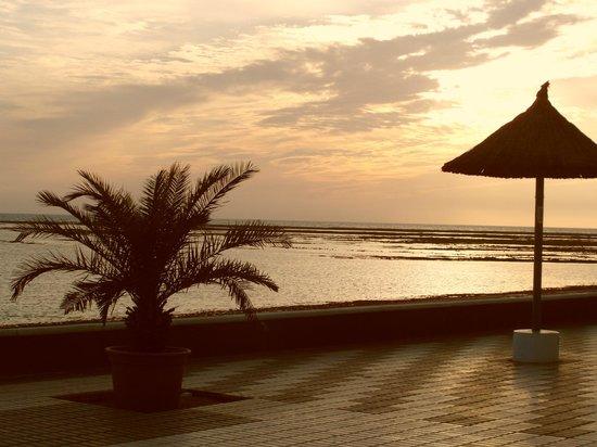 Hotel Playa de la Luz: atardecer