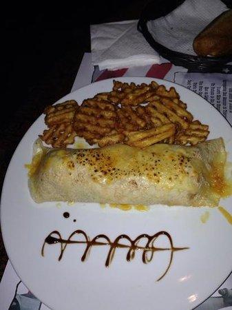El Paso de Estepona: crepes de pollo maya