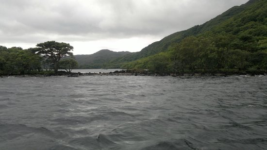 Lough Leane: View of the lake from the boat