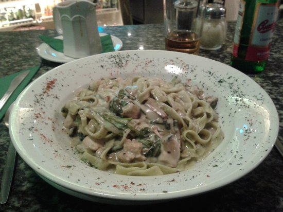 Mama's and Leonies: Chicken Tagliatelle