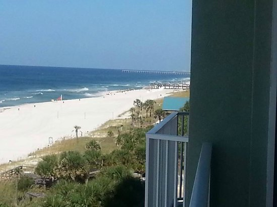 Boardwalk Beach Resort Condominiums: Balcony view