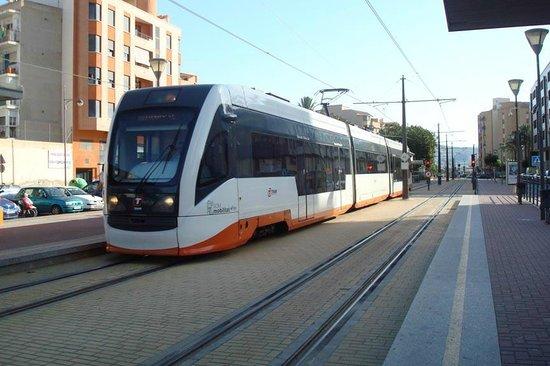 Tranvía de Alicante: Tram at Villajoyosa