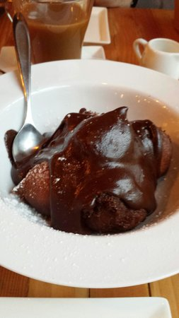 A Pig in a Fur Coat: Chocolate sfingi aka chocolate donnuts with a chocolate sauce WOOF!